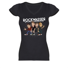 Rockwasser - Scheiss, Girl V-Neck