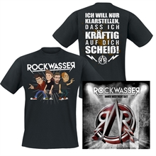 Rockwasser - Scheiss-Shirt + CD, Package